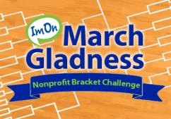 ImOn March Gladness Nonprofit Bracket Challenge Logo